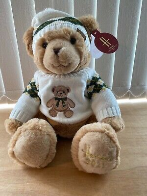 £33 • Buy Harrods 2021 Xmas Bear Named Angus - Brand New With Tags - 32cms Tall Soft Toy