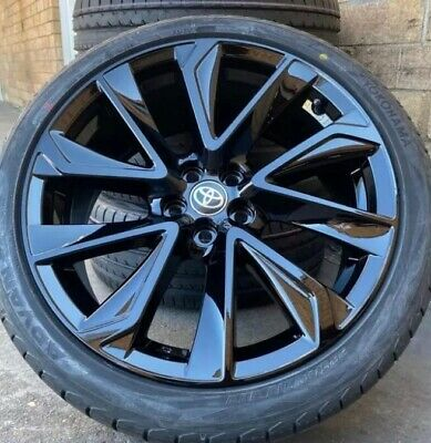 AU1725 • Buy 4 X New Toyota Corolla Zr Style Wheels And Tyres 18 . 5/100 Or 5/114.3