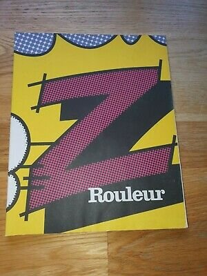 £5 • Buy ROULEUR MAGAZINE. Issue 16. RARE. GREAT CONDITION