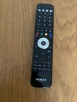 £22 • Buy Genuine Humax RM-F04 Freeview+ HD Remote For The HD-FOX & HDR T2 RM F04