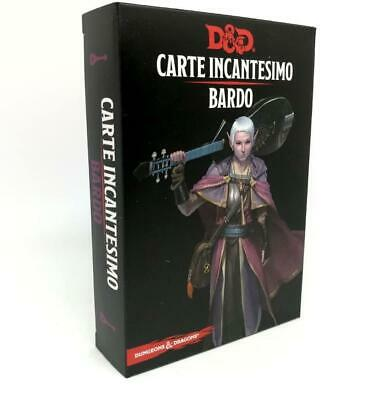 AU31.79 • Buy Dungeons & Dragons Cards Spell Bard Fifth Edition 5 ASMODEE' GDR RPG