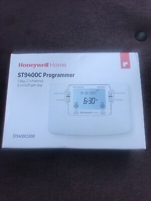 £25 • Buy Honeywell ST9400C Programmable Thermostat - White. Replacement Part For ST699.