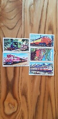 £0.99 • Buy 5 Kellogg's Trade Cards The Story Of The Locomotive 2nd Series Both End Numbers