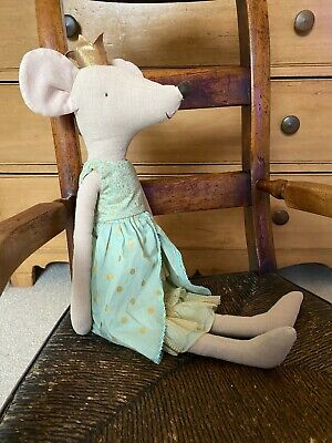 $191.13 • Buy Maileg Princess Mouse Maxi 50cm Rare Mouse In Mint Dress Retired 2018 BNWT