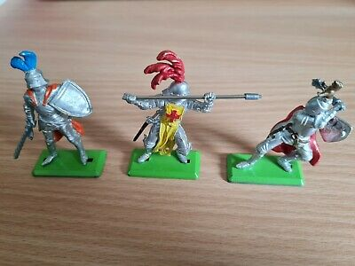 £2.99 • Buy Britains Toy Soldiers 3 X Knights