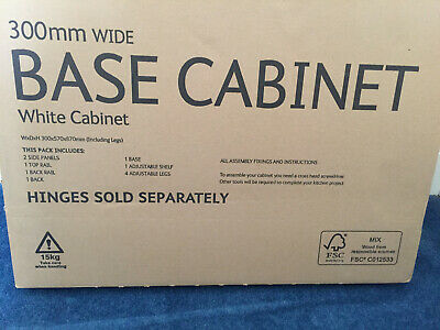 £32 • Buy B&Q Cooke & Lewis - 300mm  Base Cabinet/Unit - New And Boxed 5397007212815