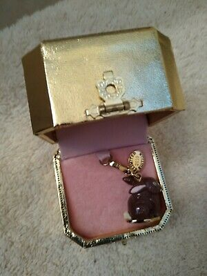 £35.63 • Buy NEW IN BOX LIMITED Juicy Couture 3D BUNNY EASTER RABBIT BRACELET CHARM
