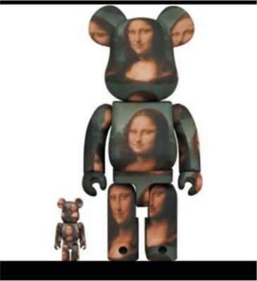 $379.89 • Buy Bearbrick Mona Lisa 400% 100% Prices Are Down. List No.bb161