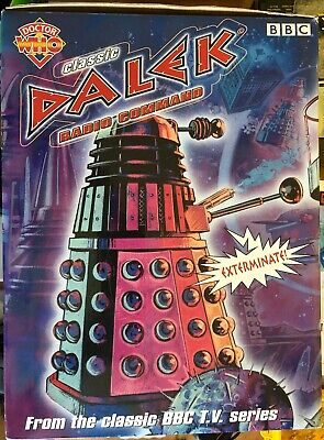 £189 • Buy Doctor Who 12 Inch Very Rare Imperial Remote Control Dalek