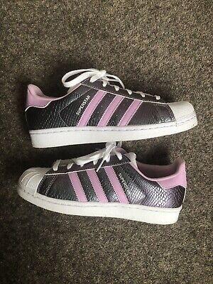AU18.90 • Buy Adidas Superstar - Pink Pearlescent - Womens / Girls - Size 5 UK