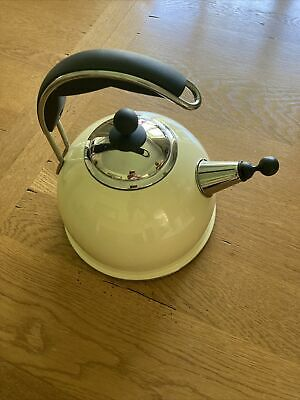 £30 • Buy Cream Aga Stove Top Metal Kettle 10.25  Tall Preloved Ex Cond