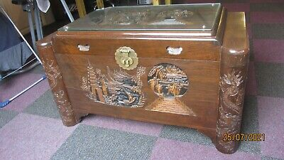 £79 • Buy Antique Chinese Wooden Chest , Blanket Box .