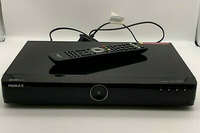 £70 • Buy Humax HDR-FOX T2 1TB Freeview+ HD Digital TV Recorder + Remote Tested & Working