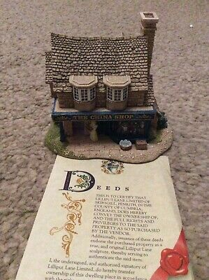 £18 • Buy Lilliput Lane House. The China Shop. Collectible, Good Used Condition