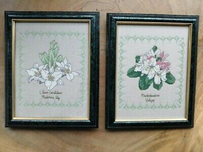 £9.50 • Buy Finished Cross Stitch Pieces In Frame