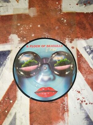 £19.99 • Buy Rare/ Flock Of Seagulls/ I Ran 7 Inch Picture Disc/ 1982/ex Con