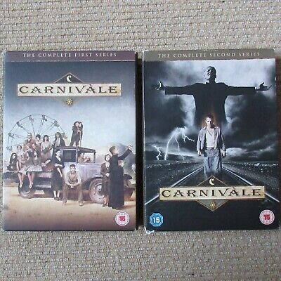 £6.50 • Buy Carnivale Complete First & Second Season 1 & 2 DVDs Supernatural Mystery Cthulhu