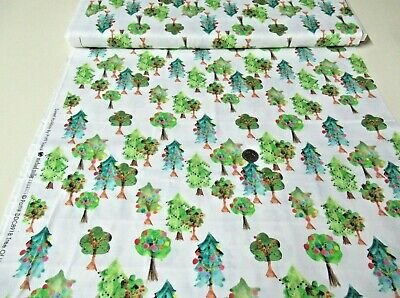 $10.77 • Buy Michael Miller Quilt-craft Fabric TREE OF LIGHTS White 2 Yds (dcx-8918) Holiday