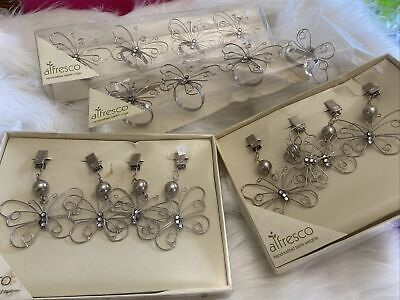 £5.99 • Buy Butterfly Napkin Rings And Table Weights Job Lot 8 Of Each