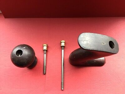 AU9.42 • Buy STANLEY BAILEY No4 PLASTIC USED TOTE HANDLE AND KNOB + Fitments - Used Condition