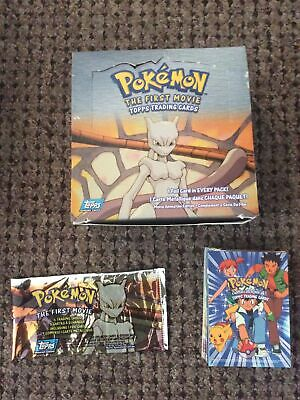 £39.99 • Buy Pokemon The First Movie Bundle Of 55 Cards Plus Empty Box + PackJob Lot Vtg Holo