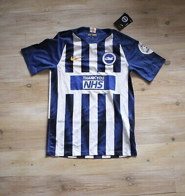 £100 • Buy Brighton And Hove Albion NHS Special Edition Shirt BNWT Small