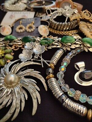 $ CDN169.94 • Buy High End Vintage💖jewelry Lot: Pieces Brooches Clip Earrings Signed Trifari +❣️❤