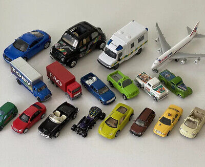£8.99 • Buy TOY CAR Bundle ASSORTED VEHICLES Taxi Plane Trucks
