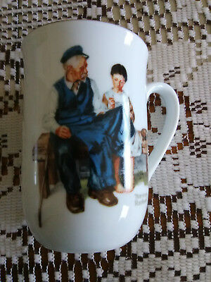 $ CDN3.78 • Buy Norman Rockwell The Lighthouse Keeper's Daughter Porcelain Coffee Mug 1982 New +