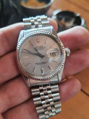 $ CDN6671.90 • Buy Nice Vintage Rolex Oyster Perpetual Date Just 36mm Automatic Men Wrist Watch