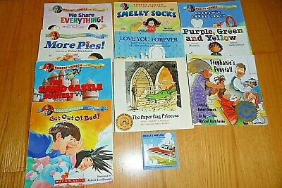 £7.20 • Buy Lot Of 11 Children's Books By Robert Munsch, Love You Forever, Smelly Socks,