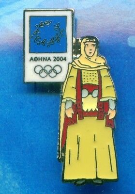 £7.16 • Buy Athens 2004. Olympic Games. Olympic Pin. Costume Of Attica