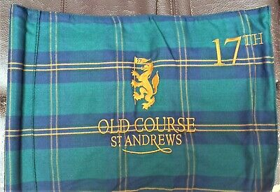 £39.50 • Buy Golf Flag OldCourse St Andrews Embroidered Front And Back With Tube