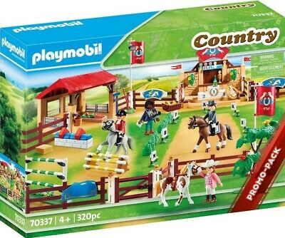 £39.99 • Buy Playmobil 70337 Country Farm Horse Riding Arena