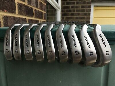 AU132.19 • Buy Set Of 9 SKYMAX Ice Ix-1 Cavity Back Golf Clubs Irons GREAT Condition LEFT HAND