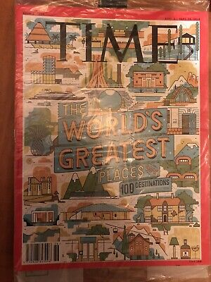 £42.90 • Buy New Sealed TIME MAGAZINE 2018 Double The Worlds 100 Greatest Places Destinations