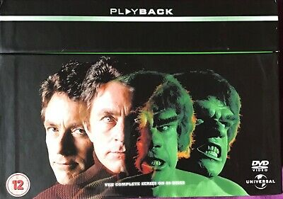 £26.99 • Buy The Incredible Hulk: The Ultimate Collection Boxset - NEW DVD 24 Discs (1977-82)
