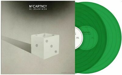 AU68.64 • Buy Paul McCartney III 3 Imagined Spotify Exclusive Translucent Green Colored Vinyl
