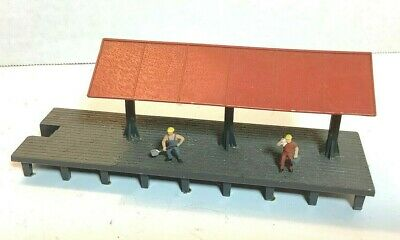 $ CDN14.94 • Buy Ho Scale 1:87 Train Passenger Platform Building - Painted, Weathered & Detailed