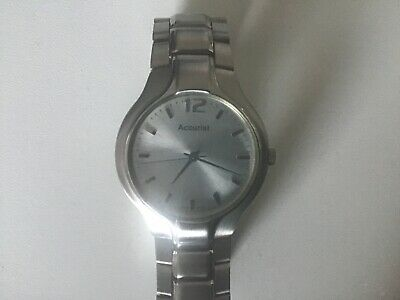 £0.99 • Buy Accurist MB074S Quartz Watch. New Battery. No Box Or Papers. Nice Condition.