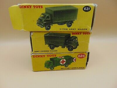 £9.99 • Buy Dinky Military ORIGINAL EMPTY BOXES X 3