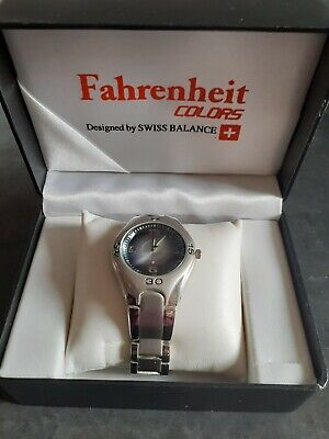 £30 • Buy Fahrenheit Colors Mens Watch Designed By Swiss Balance