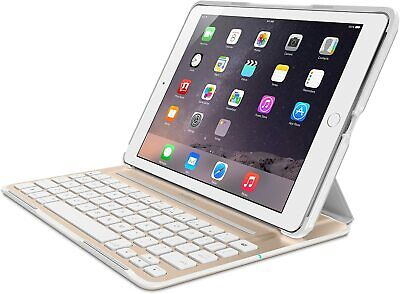 £42.54 • Buy BELKIN QODE Ultimate Pro Keyboard Case For IPad Air 2 (White/Gold) New In Box