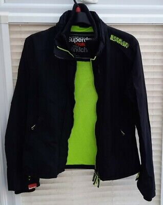£21.99 • Buy Womens / Girls XL Superdry Black Windcheater Jacket With Logo. Good Clean Cond.
