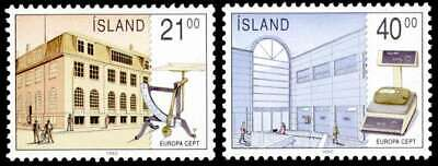 £0.99 • Buy Iceland 1990 Europa, Post Office Buildings, Scales, MNH / UNM
