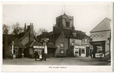 £10 • Buy RP RUISLIP The Village SALTERS ALE Crookall BUTCHER Laurence MIDDLESEX London