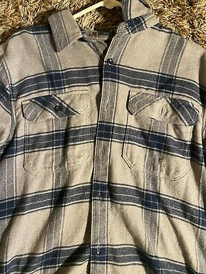 $9.50 • Buy Patagonia Mens Flannel Size M Blue Excellent Condition