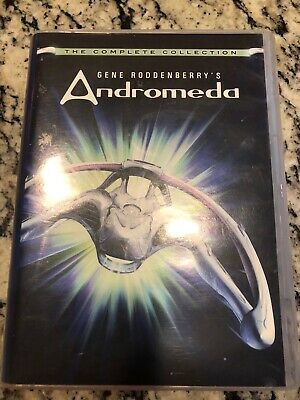 £19.41 • Buy Gene Roddenberry's Andromeda TV Series Complete Collection 24 Disc DVD