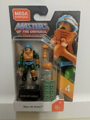 $24.95 • Buy Mega Construx Masters Of The Universe Man-at-arms FWV52 Brand New Heman
