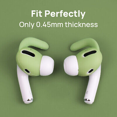 AU6.95 • Buy For AirPods Pro Ear Hooks Case Cover Secure Holder Earbuds Ear Tips Strap